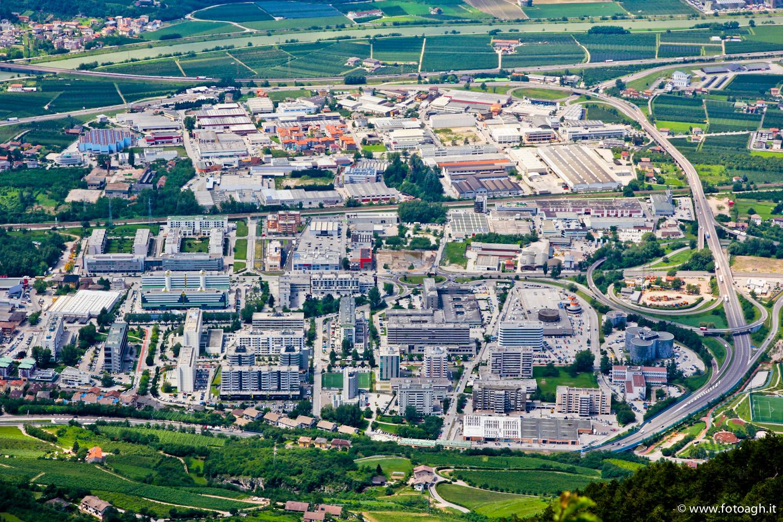 Periferia di Trento nord