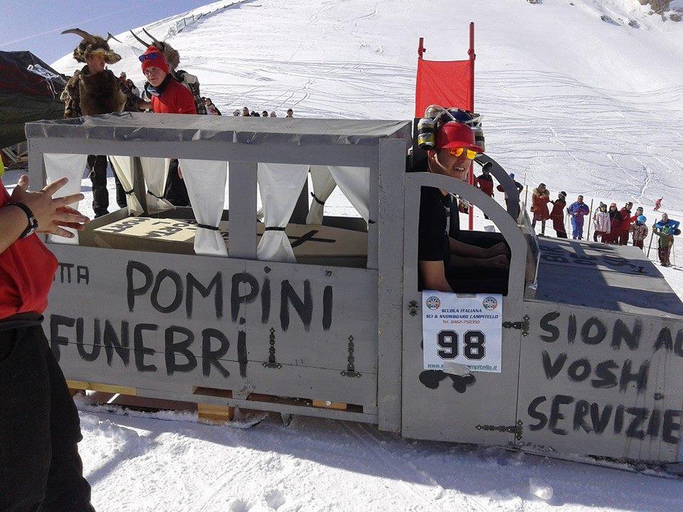 Festa sulla neve al Des Alpes